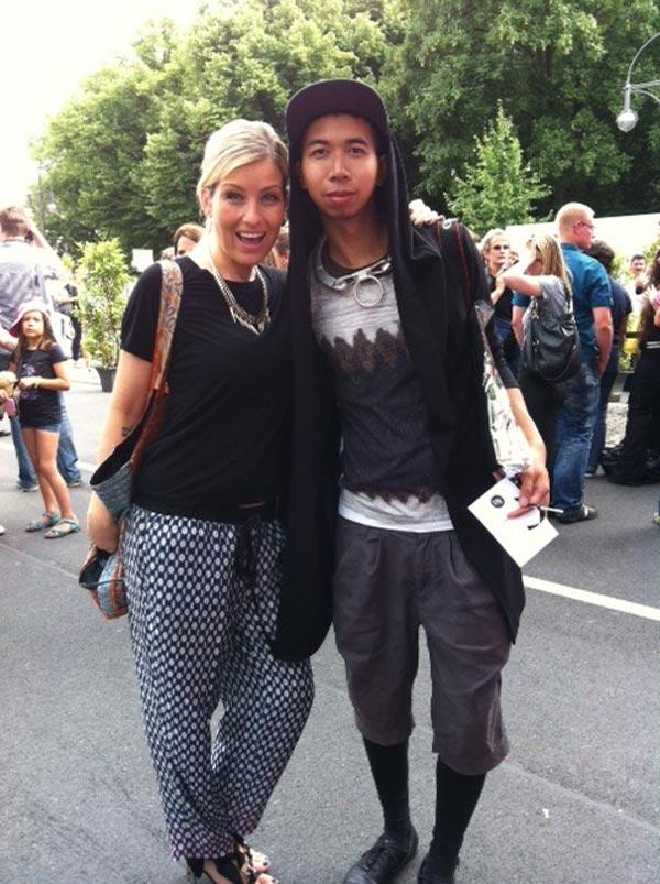 Schmuck-Battle zwischen Susanka und einem männlichen Fashion Victim