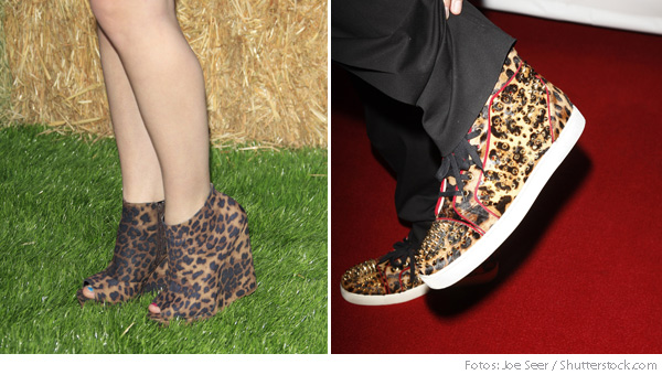 animalischer schuh trend leo slippers fashionzone. Black Bedroom Furniture Sets. Home Design Ideas
