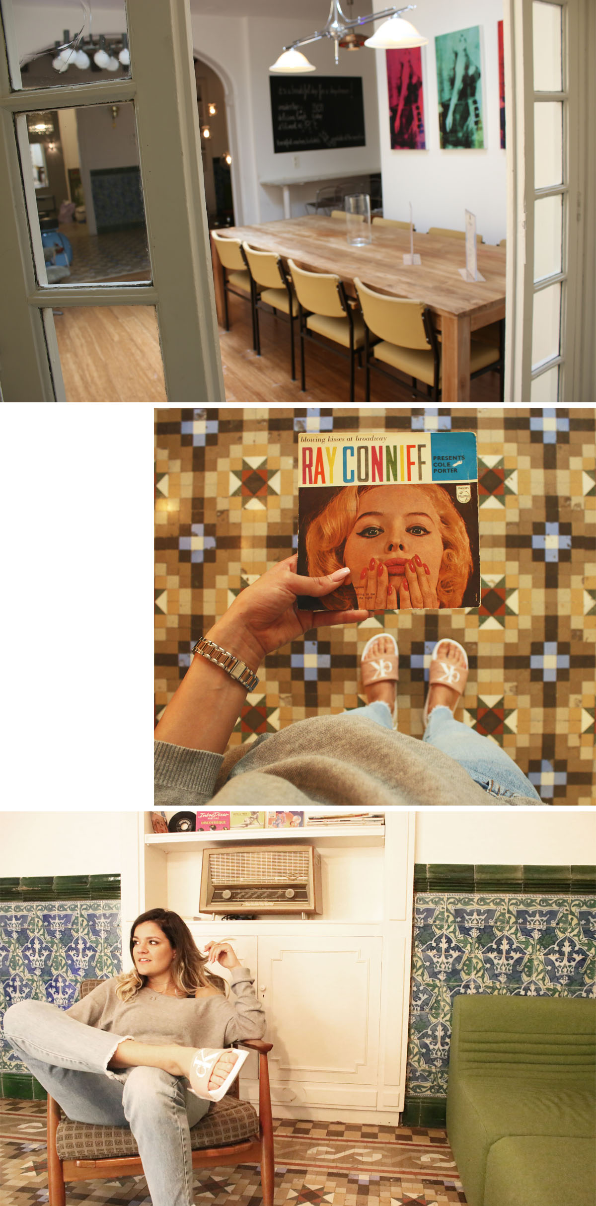 retrome-hotel-barcelona-retro-interior-ray-conniff-album-calvin-klein-slippers-cool-hotel-barcelona-hotel-review-barcelona
